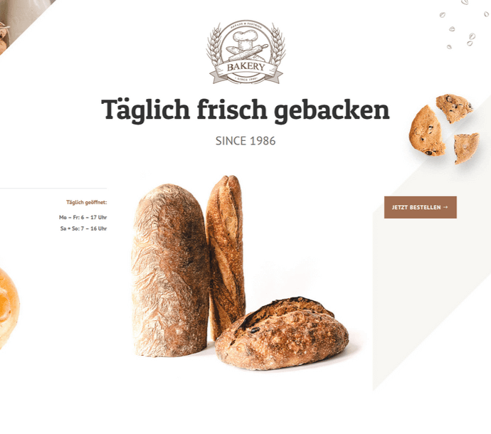 Design: Bäckerei