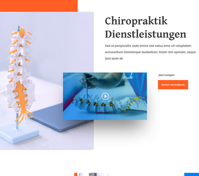 Design: Chiropraktiker