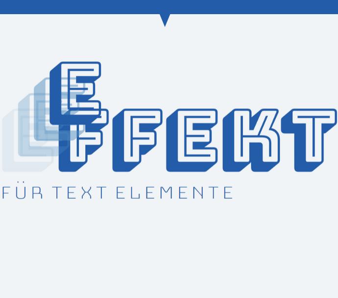 Design: Animierter Text (Scroll-Effekt #01)