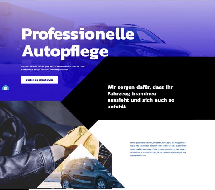 Design: Autopflege