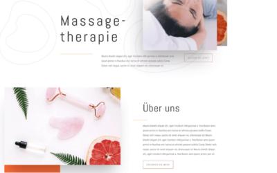 Design: Massagetherapie