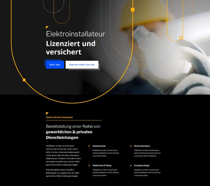 Design: Elektriker