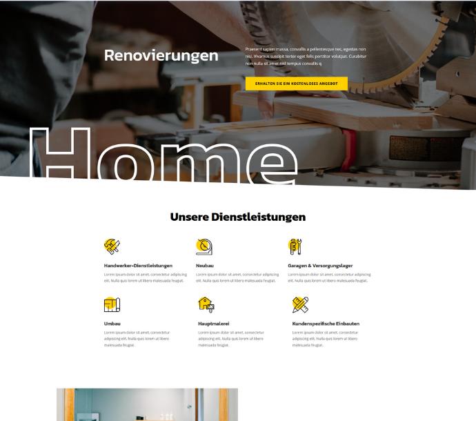 Design: Renovierungen